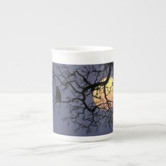 Owl and Moon Specialty Bone China Mug