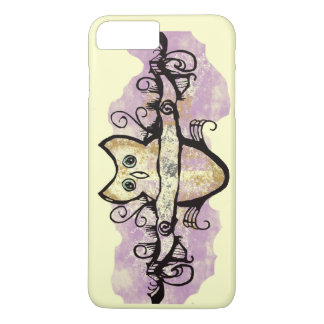 Owl and music bars iPhone 7 plus case