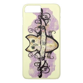 Owl and music bars iPhone 8 plus/7 plus case