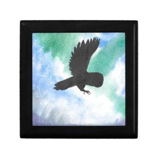 Owl And Northern Lights Gift Box