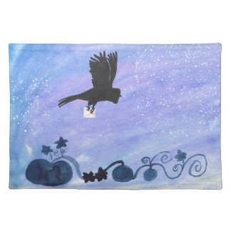 Owl And Pumpkin Patch Placemat