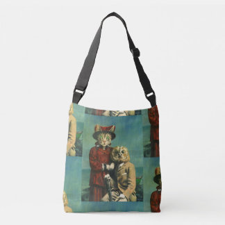 Owl And Pussy Cat Cross Over Bag