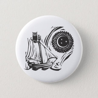 Owl and the Pussycat 2 Inch Round Button