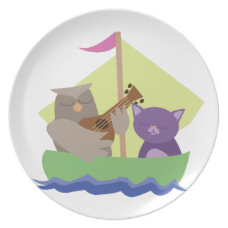 Owl and the Pussycat Party Plates