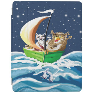 Owl and the pussycat went to sea iPad smart cover