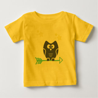 Owl and the stars baby T-Shirt