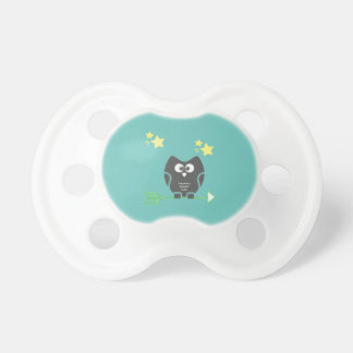 Owl and the stars pacifier