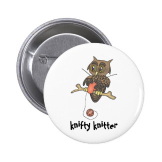 owl and yarn knifty knitter pins