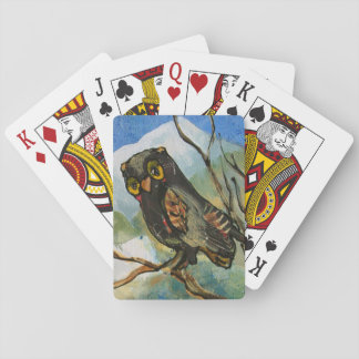 Owl Art Playing Cards