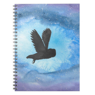 Owl At Night Notebooks