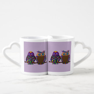 Owl Attraction Couples Mug