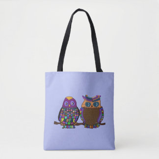 Owl Attraction Tote Bag