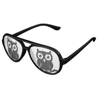 Owl Aviator Sunglasses
