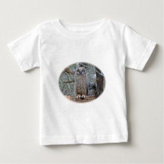 Owl Babies in Basket Baby T-Shirt