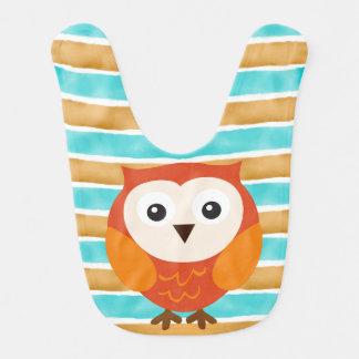 Owl Baby Bibs