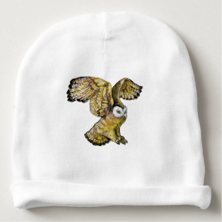 Owl Baby Cotton Beanie Baby Beanie