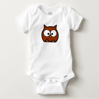 Owl Babysuit Baby Onesie