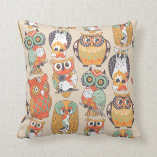 Owl Be Collection Throw Pillow Cushion