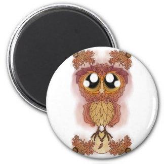 Owl Be-leaf In Hoo-Hoo (October 2017) Magnet