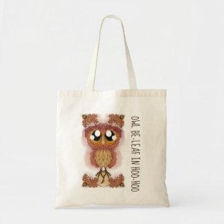Owl Be-leaf In Hoo-Hoo (October 2017) Tote Bag