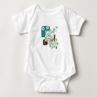 Owl Be There Baby Bodysuit
