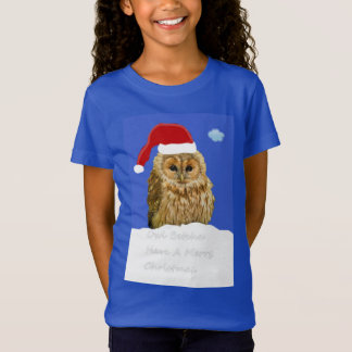 Owl Betcha Have A Merry Christmas. T-Shirt