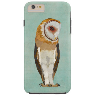 OWL BLUE TOUGH iPhone 6 PLUS CASE
