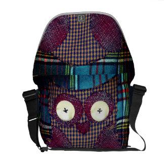 Owl Book Bag Courier Bags