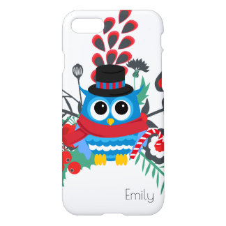 Owl Bouquet Monogram iPhone 8/7 Case