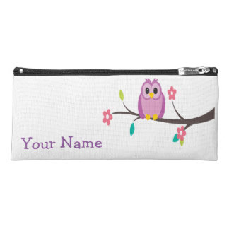 Owl Branch Pencil Bag