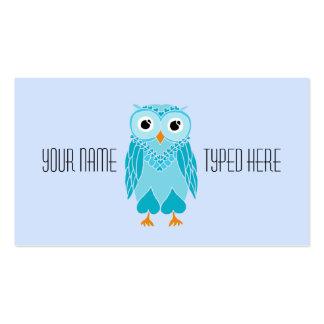 Owl Business Card Template