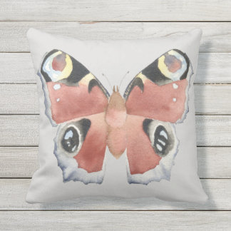 Owl Butterfly Pillow Cushion