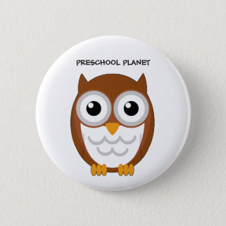 owl button