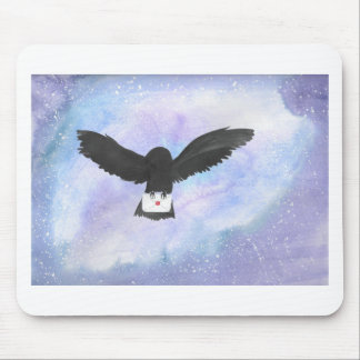 Owl Carrying Mail Mouse Pad