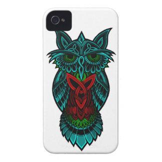 Owl Celtic Art iPhone 4 Case