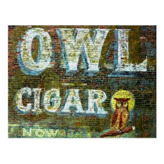 Owl Cigar Postcard