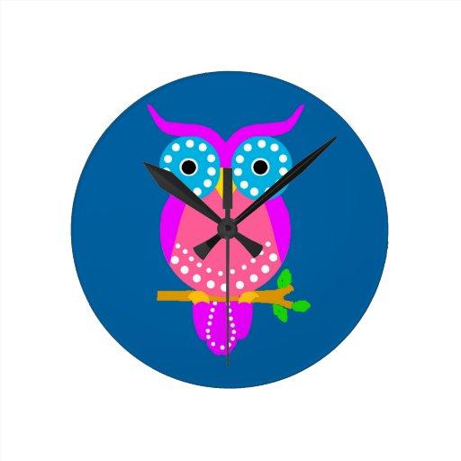 Owl Wallclock
