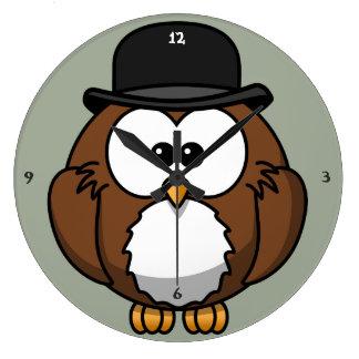 Owl Clock