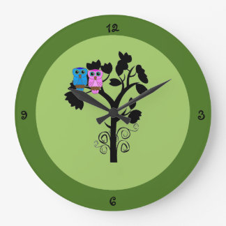 Owl Clock - Nature / Bird Themed Decoration