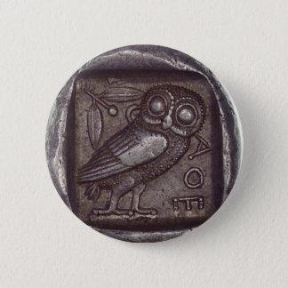 Owl Coin 2 Inch Round Button