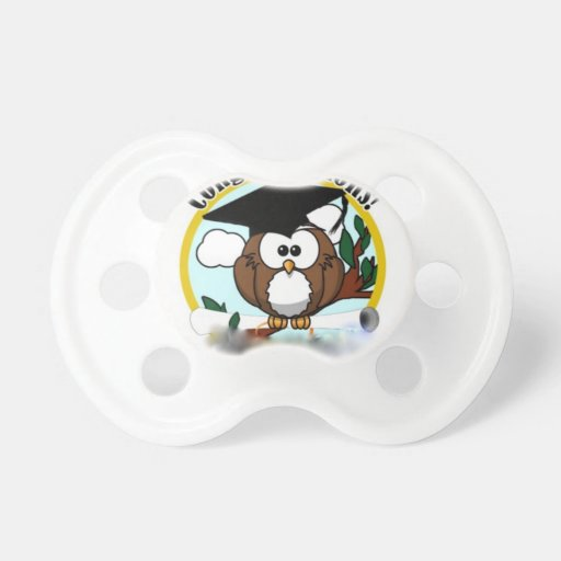 OWL CONGRATULATIONS PACIFIERS