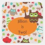 Owl Customized Stickers