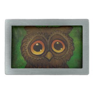Owl cutie belt buckles