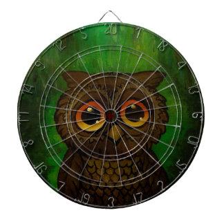 Owl cutie dartboard
