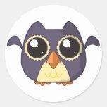 Owl Cutie Round Sticker