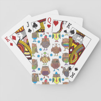 Owl deal you a new one playing cards