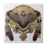 Owl Dream Catcher Tile