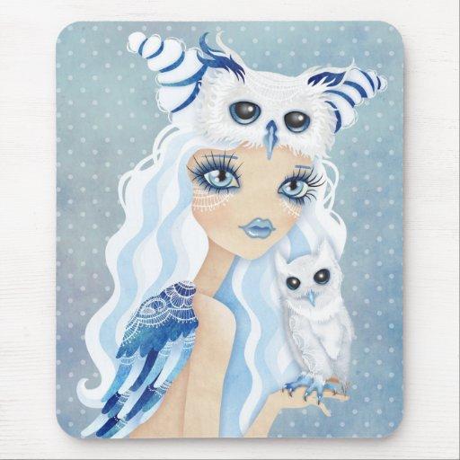 Owl Duchess Mouse Pad Mousepad