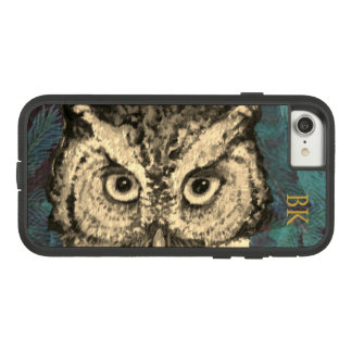 OWL EYES ON YOU CUSTOMIZABLE by Slipperywindow Case-Mate Tough Extreme iPhone 8/7 Case