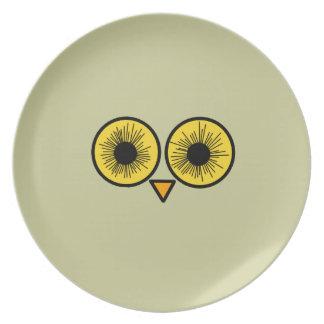 Owl Eyes Party Plates
